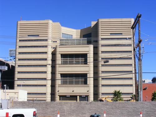 Back View: CCDC Downtown Las Vegas - Inmate Search CCDC