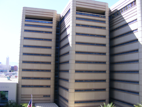 Side View: CCDC Downtown Las Vegas - Inmate Search CCDC
